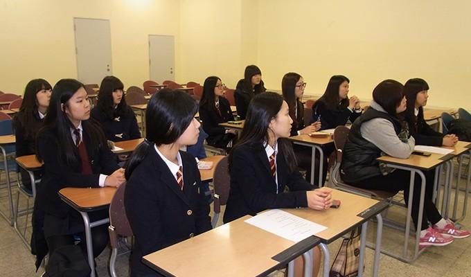 포천고등학교 신사동 동아리 독도기부금 전달식(2014.2.18.)-2