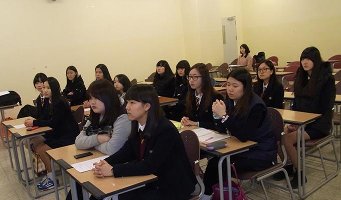 포천고등학교 신사동 동아리 독도기부금 전달식(2014.2.18.)-3